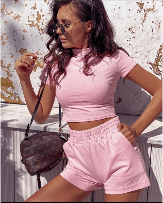 Compleu dama roz prafuit