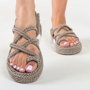 Sandale Marine Gri