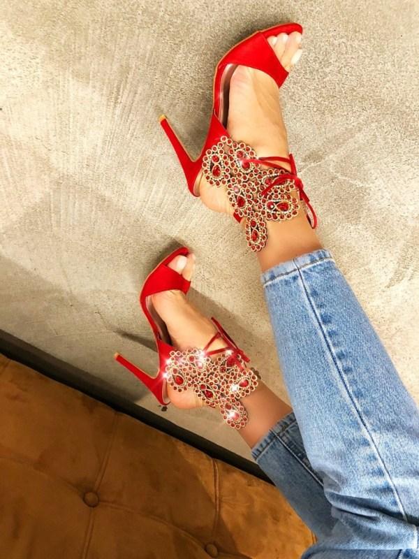 Sandale Ciber Rosii