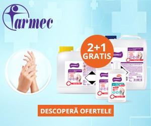 2+1 gratis dezinfectant de maini