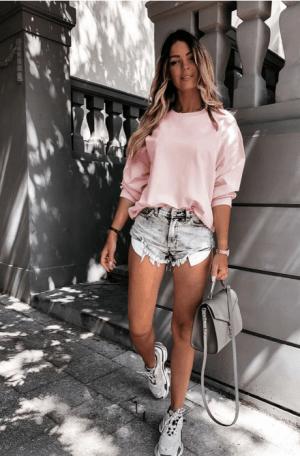 Bluza Dama Sport Roze