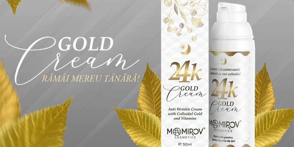 Momirov Cosmetics Gold Cream