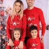 Bluze de Familie - Set Home Rosu