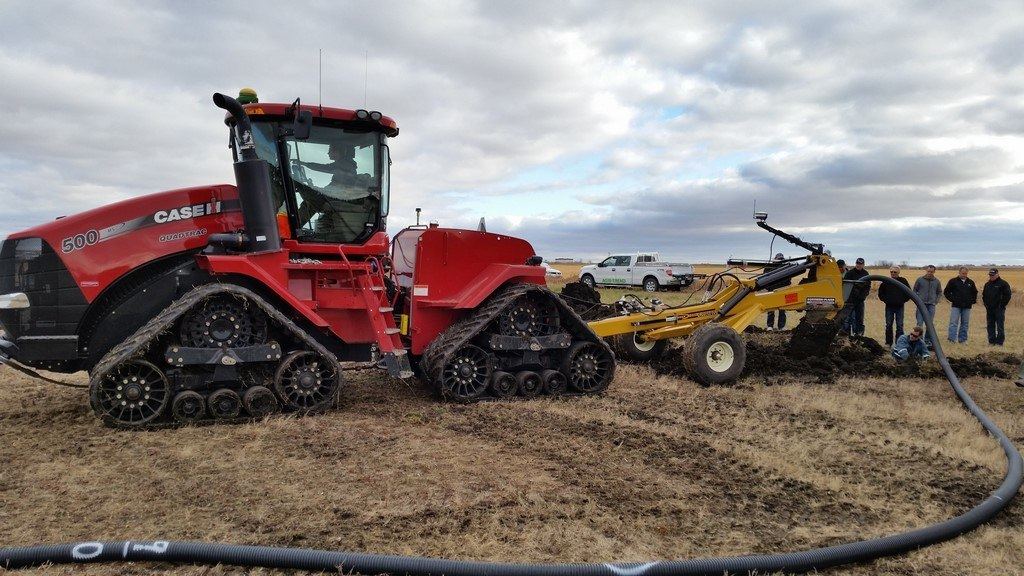 soil max gold digger tile plows for