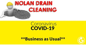 Call 086 8032603 for 24 hour 7 DAY advice and service - Open for business and our full essential sanitary Waste pipe clearace services drain cleaning & drain unblocking services For home and commercial customers are available in counties Westmeath, Meath, Kildare, Longford, Offaly, Rosscommon during the Covid 19 - Corona Virus crisis