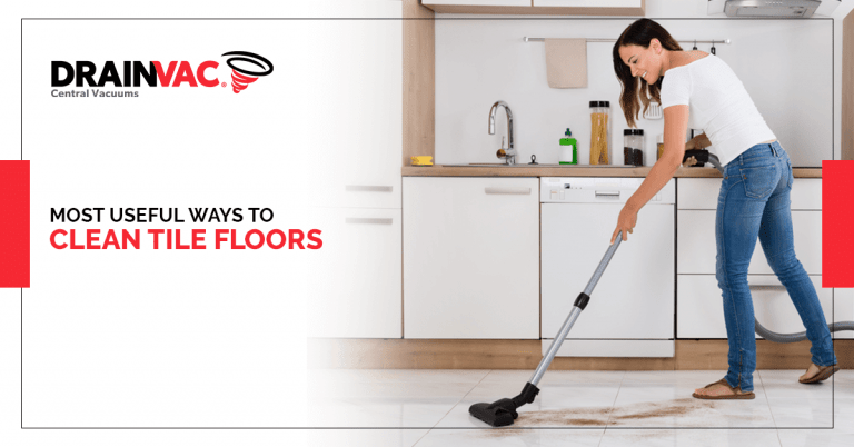most useful ways to clean tile floors