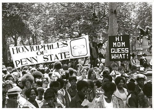 LGBT picketing 1960s