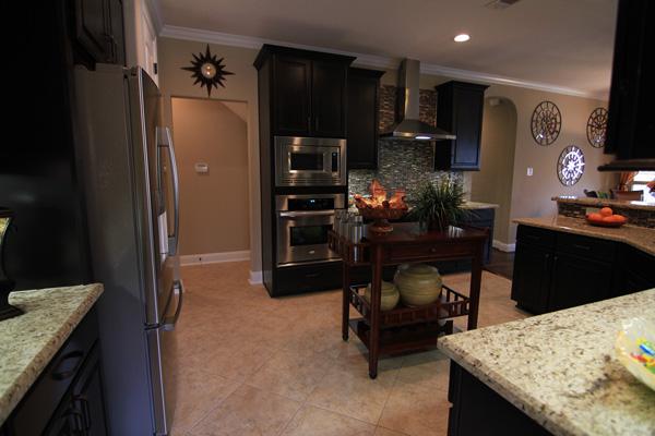 Kitchen - Stainless Ovens - Tile Floors
