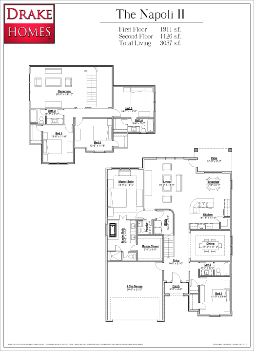 28974 Twisted Oak - Napoli II plan