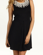 Waffle Knit Collar Dress by Free People at 6pm.com. $66