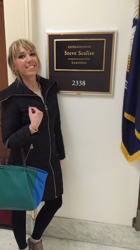 Levi Larson at Rep. Steve Scalise's office.