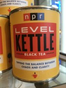 For being a curious journalism student, I didn't do great research on this product. I'm not sure if it is tea leaves or brewed tea... (Photo Credit Julia Wolf)