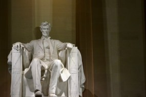 Abraham Lincoln. Photo by Grace Dunn