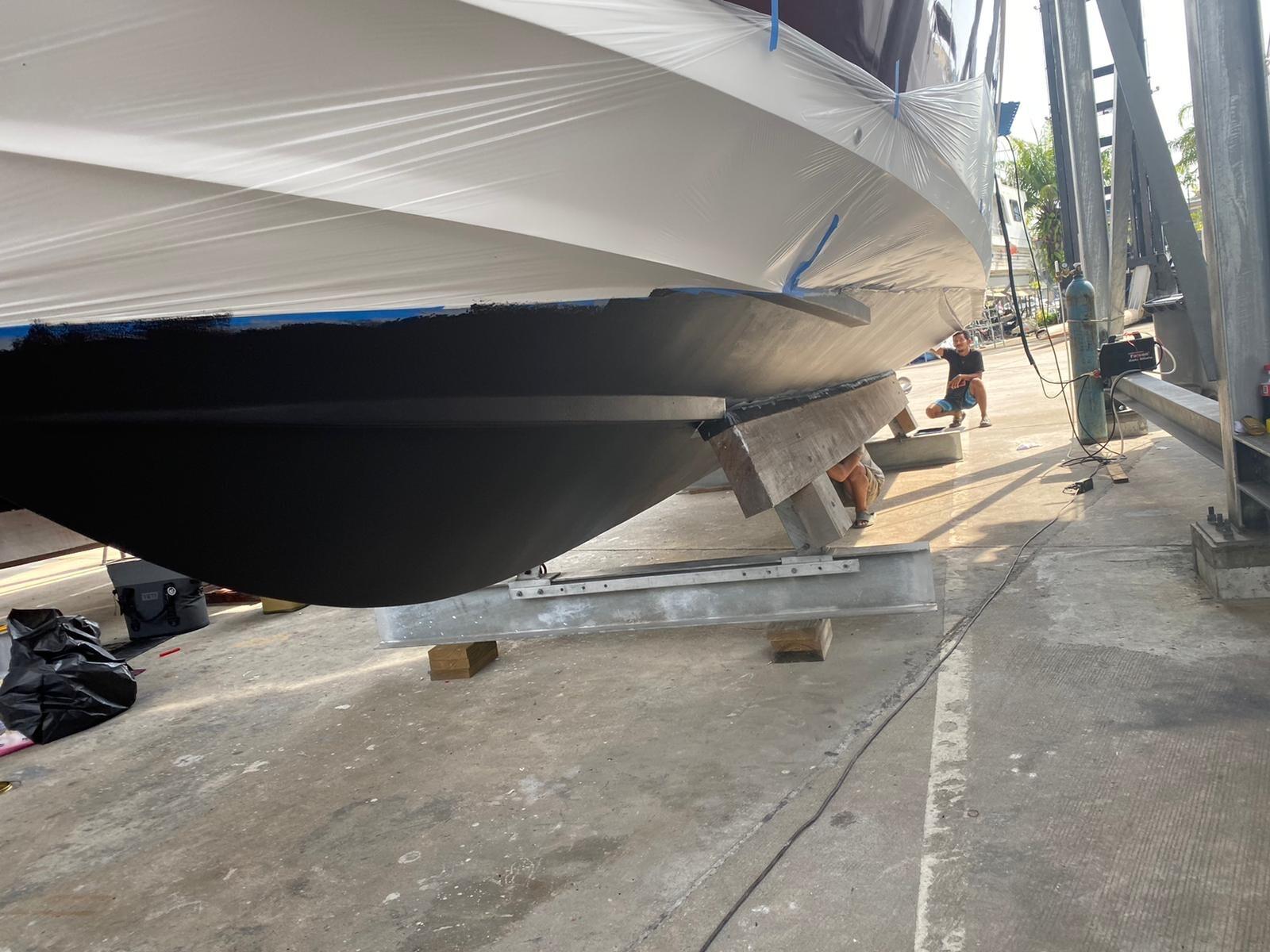 Raptor Boat Antifouling Phuket Thailand