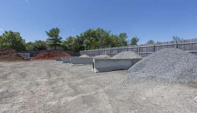 landscape aggregate stone pebbles gravel depot