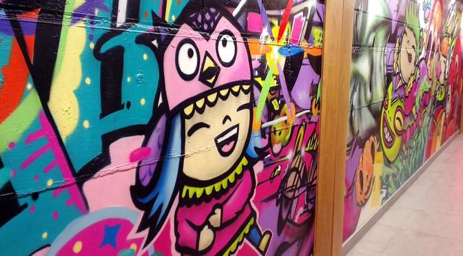 Mobile Monday: Graffiti Girl