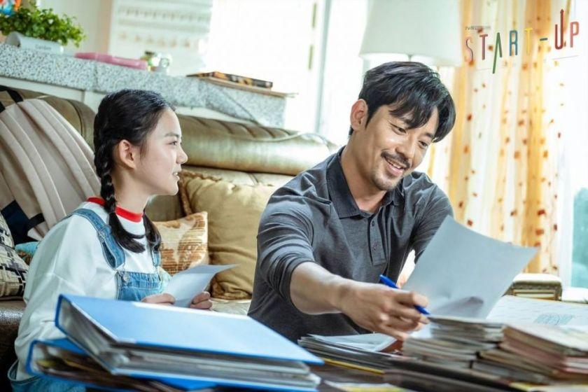 Kim Joo-hun sebagai bapak Seo Dal-mi di Start-up