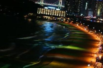 heundae at night time