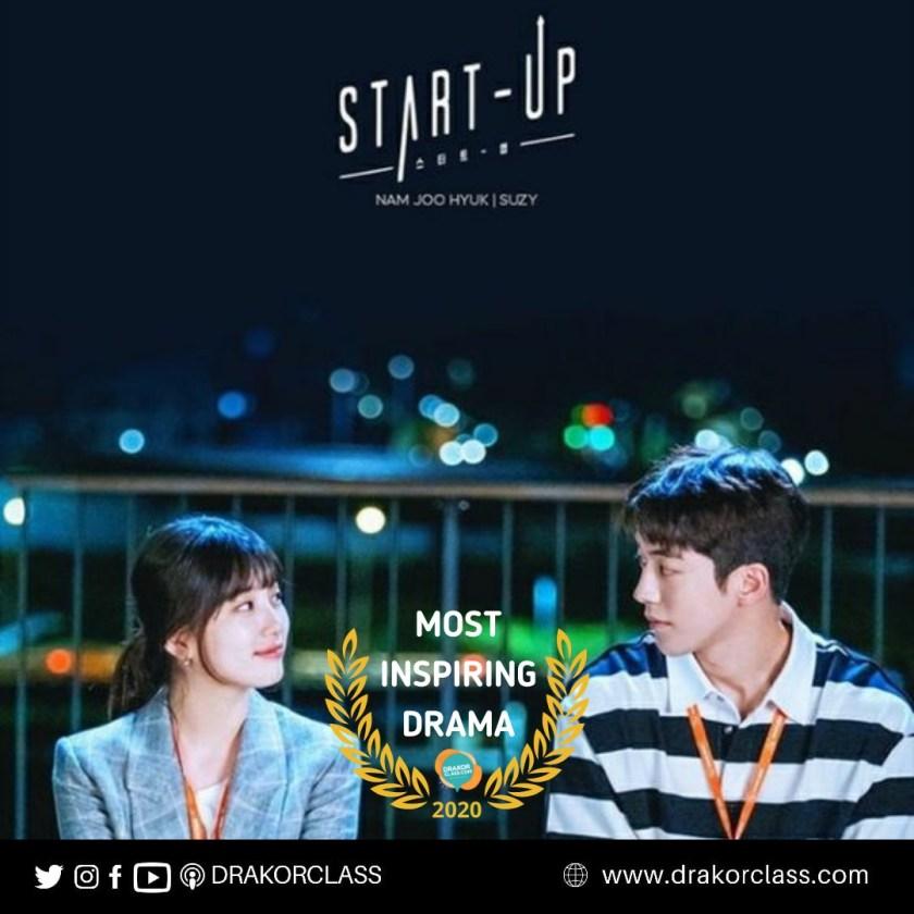 Most Inspiring drama 2020 drakorclass: Startup