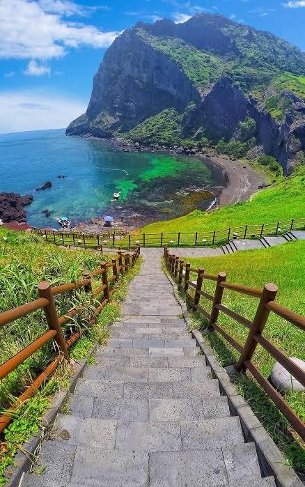 Beautiful jeju island. Source: pinterest