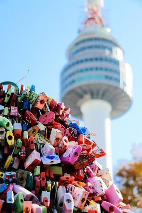 Gembok Cinta namsan tower