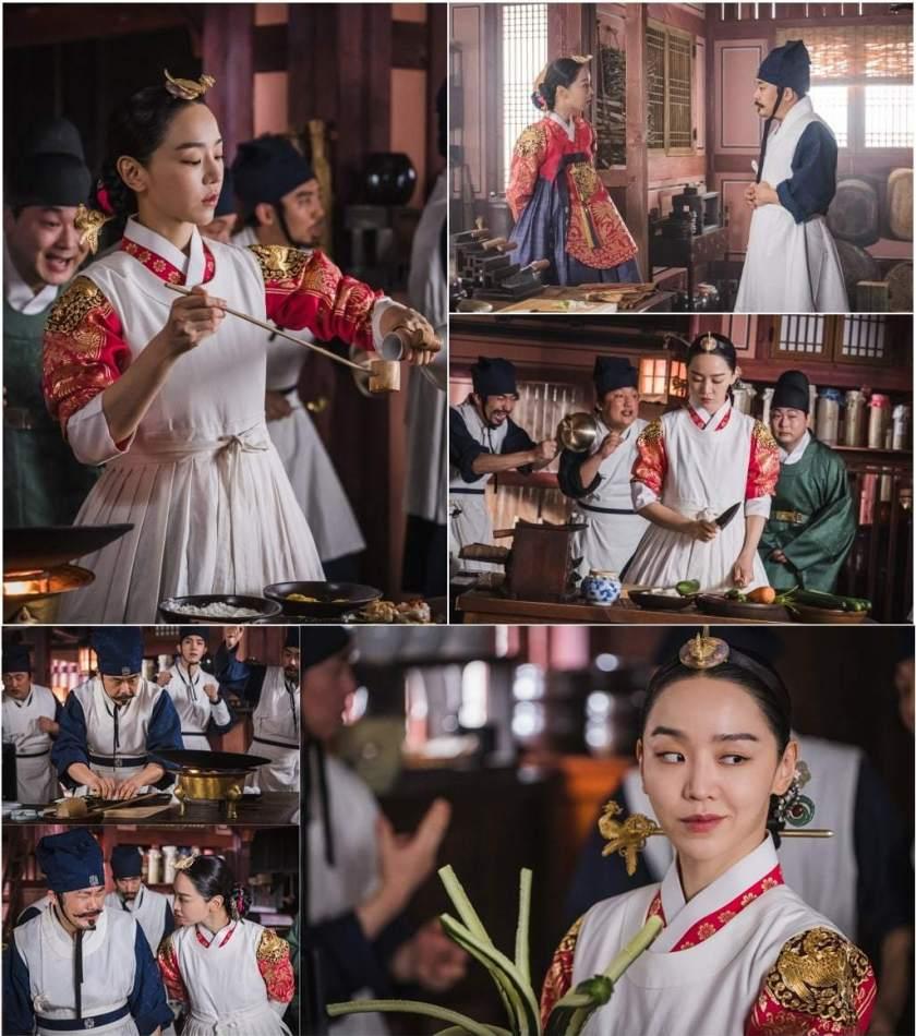 shin hye sun di dapur kerajaan Mr.Queen