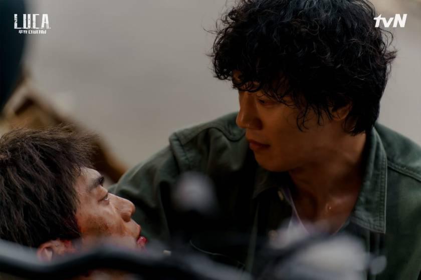 Perpisahan Won Yi dan Ji O Sumber gambar: TvN