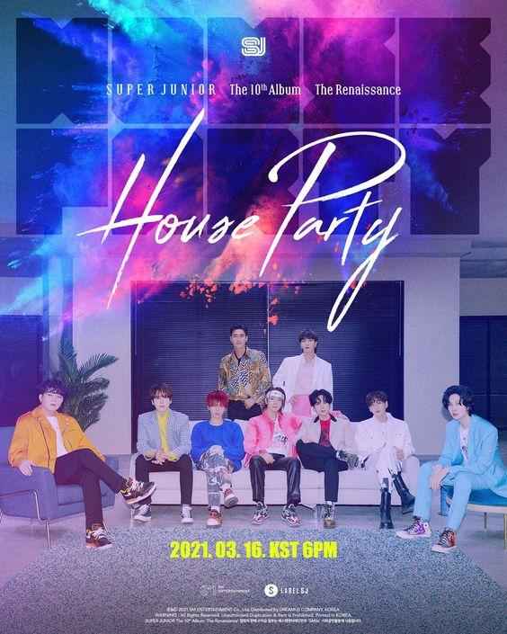 Super Junior (슈퍼주니어) - House Party