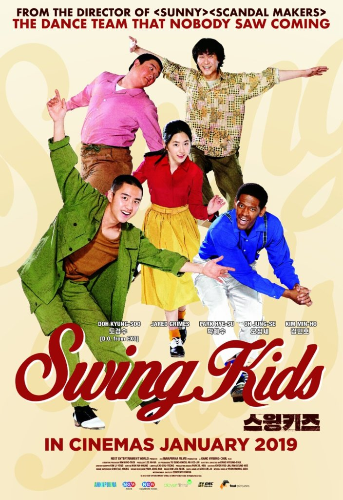 "Poster Film ""Swing Kids"" (Sumber: MovFreak)"