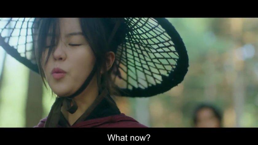 Yeom Ga Jin yang terlihat angkuh