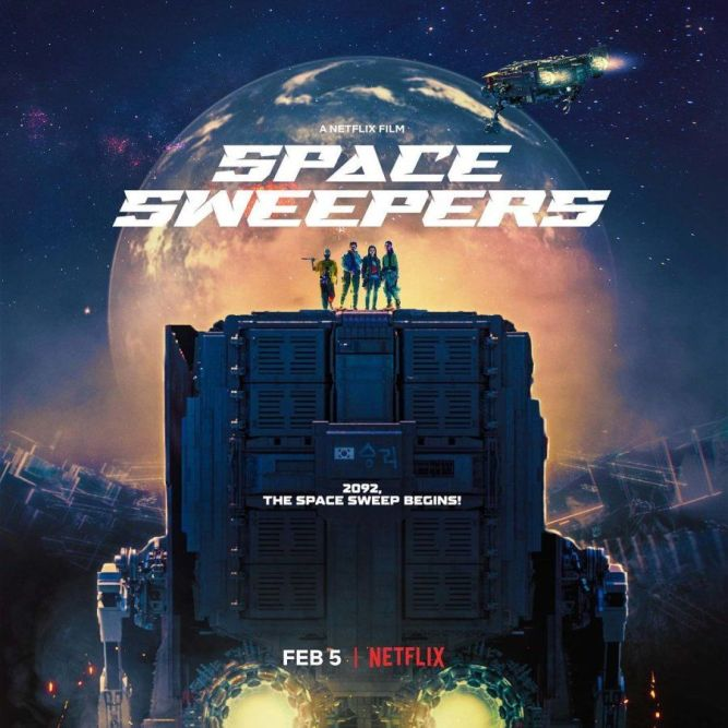 Poster Space Sweepers (Netflix)