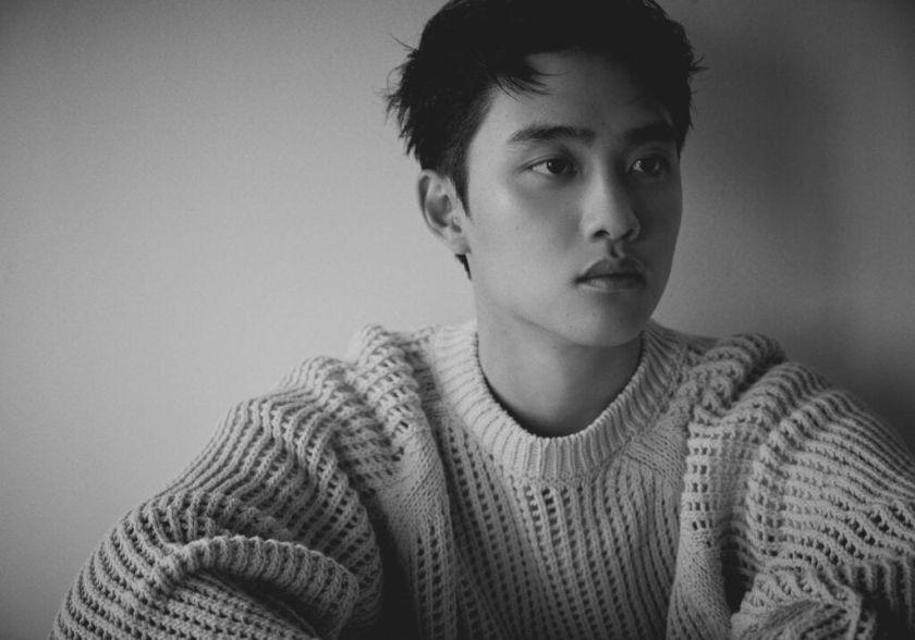 Foto Promosi D.O. untuk Album Empathy (Sumber gambar: @weareoneEXO)