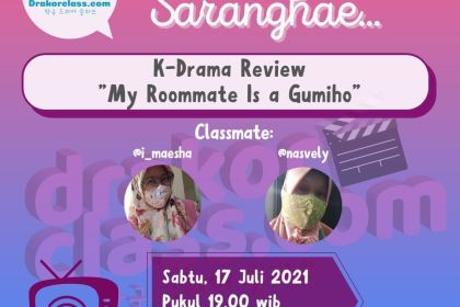 my roommate is a gumiho