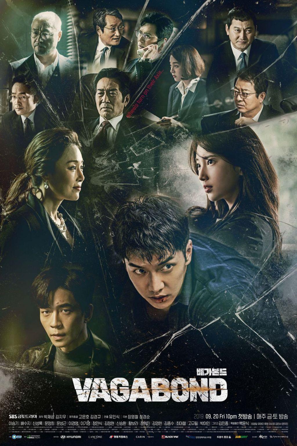 Poster K Drama Vagabond