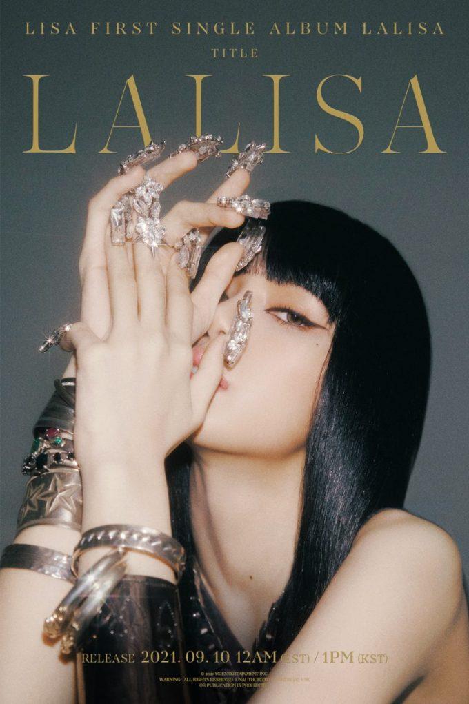 Lisa First Single Album LALISA Poster