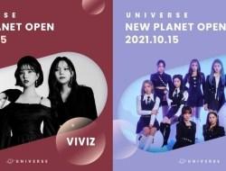 VIVIZ dan LIGHTSUM akan Menjadi Girlgrup Selanjutnya Yang Akan Bergabung dengan Platform UNIVERSE