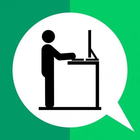 blog illustration of a stand/sit desk