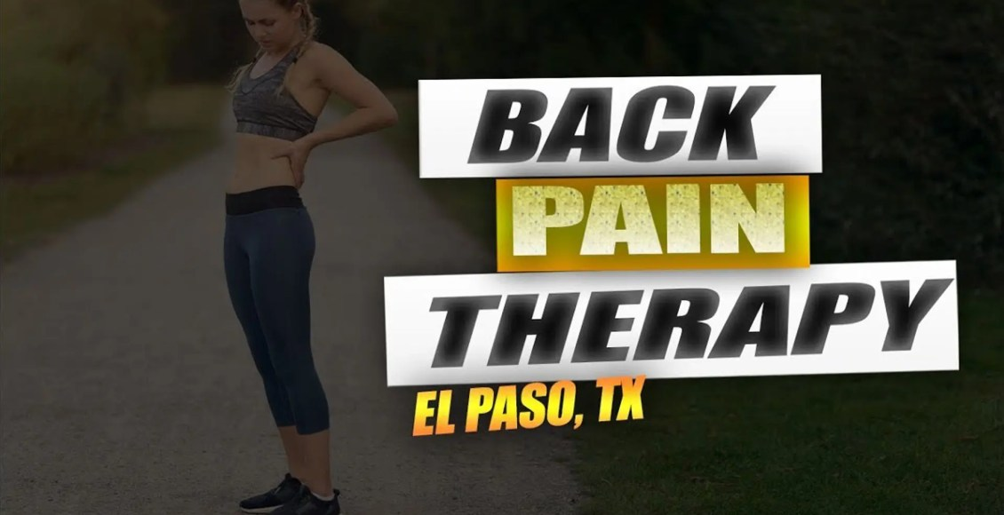 back pain chiropractic care el paso tx.