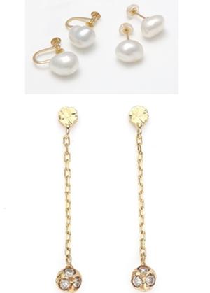 CASUCAのイヤリング、大人可愛くて素敵