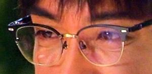 眼鏡アップ
