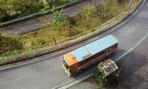 バス停「月見高原前」シーン