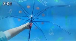 hanbunaoi-ビニール傘