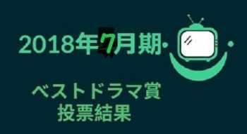 2018年ベストドラマ投票結果