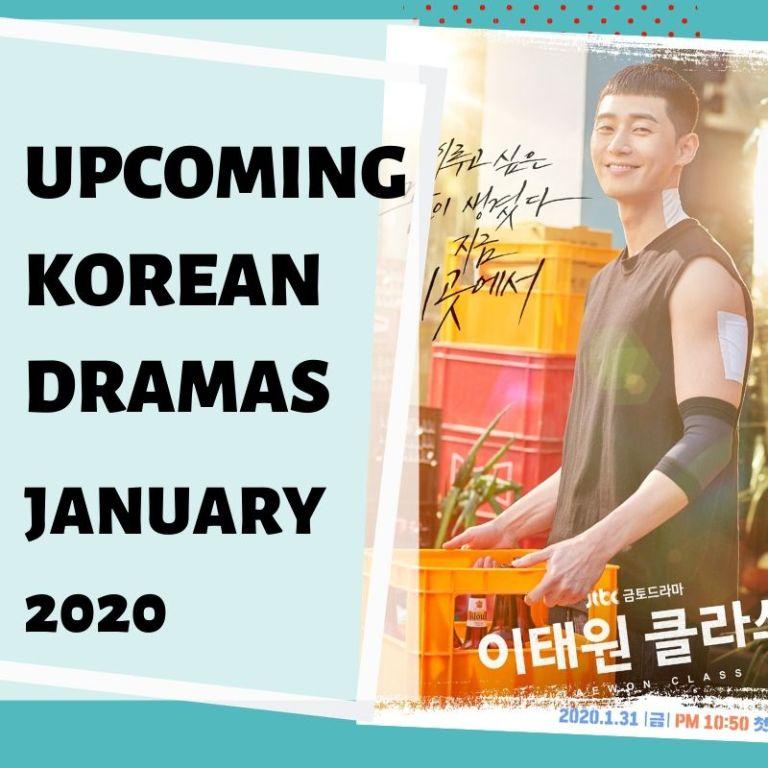 Upcoming Korean Dramas January 2020