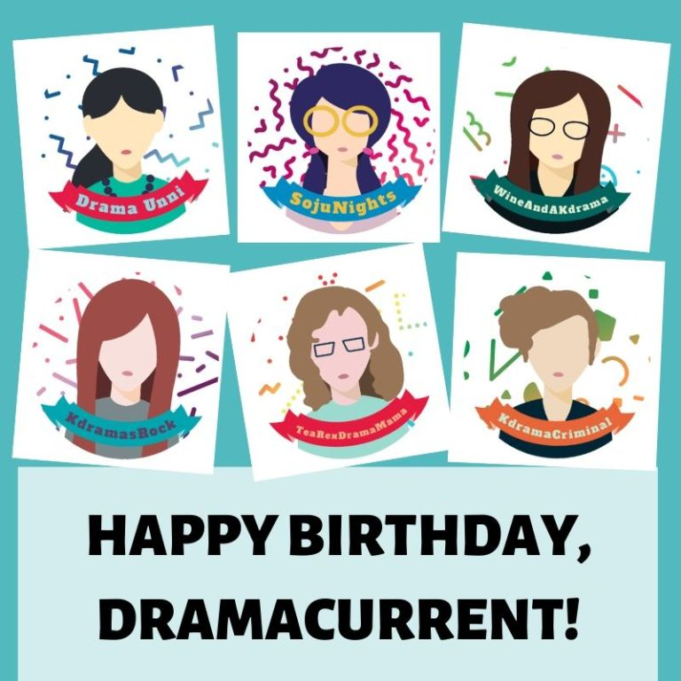 Happy 2nd Birthday, DramaCurrent! Let's Party!