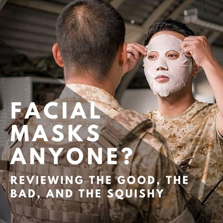 Facial Masks Anyone? Reviewing The Good, the Bad, and the Squishy