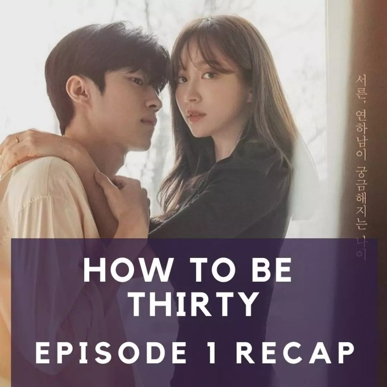 Recap: How To Be Thirty, Episode One