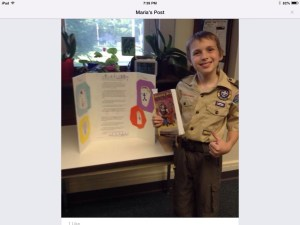 boy scout and book project
