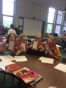 Bumbling Bea reading group
