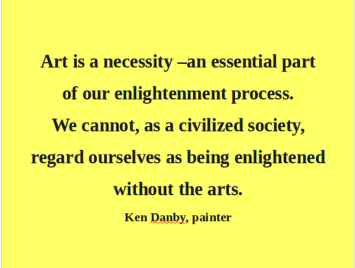art-and-civilized-society